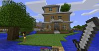 Construction d'une maison Minecraft